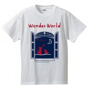 WonderWorldTシャツ