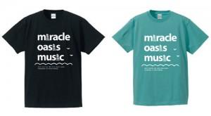 ミラクルオアシスミュージックTシャツ